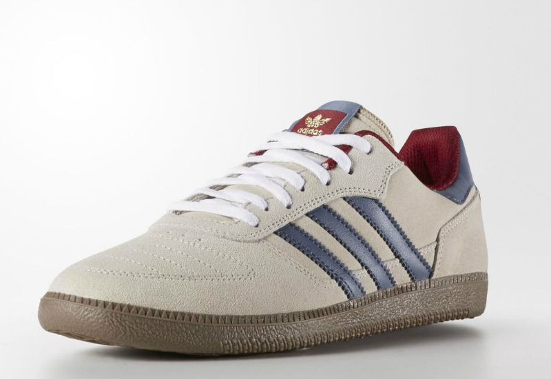 Adidas Copa Skate Shoes White Fade Ink Collegiate Burgundy