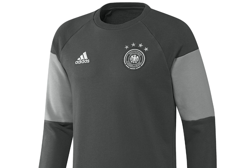 Adidas Germany Sweat Top Solid Grey