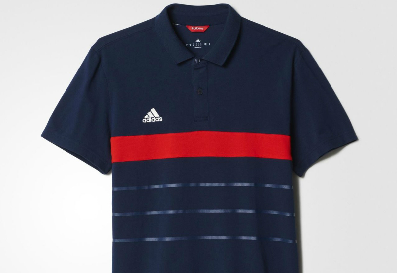 Adidas Host Country Cotton Polo Shirt Collegiate Navy Red
