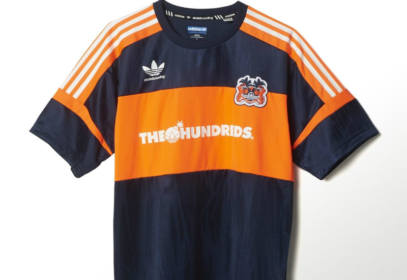 Adidas Hundreds Jersey Collegiate Navy