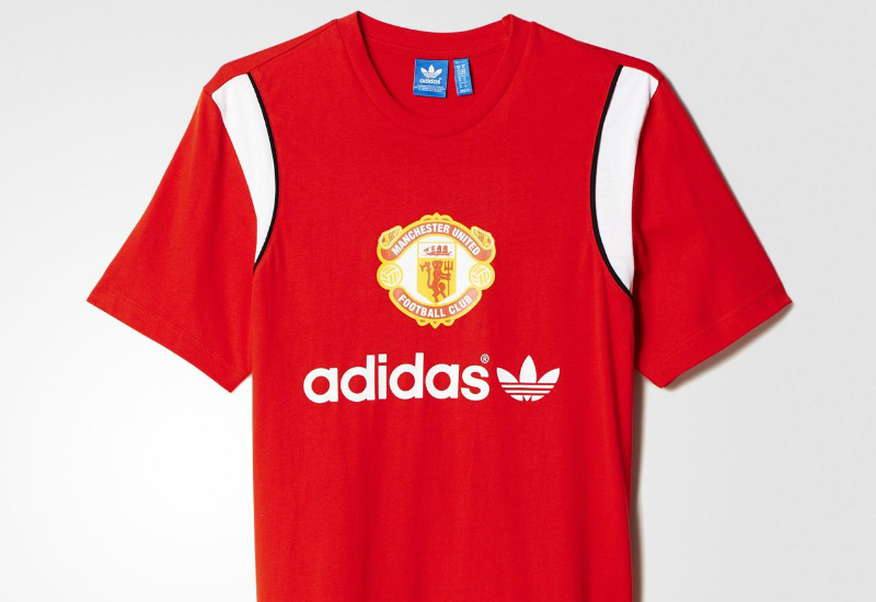 Adidas Manchester United Fc Tee Red