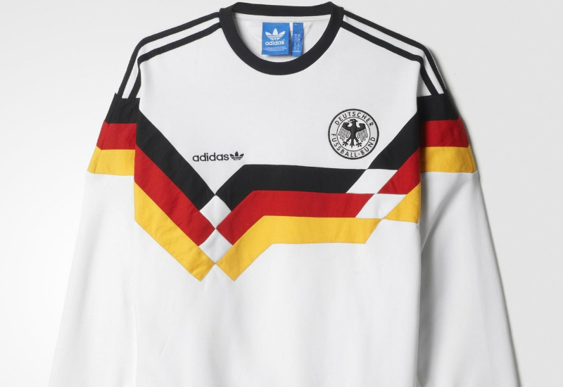 Adidas Og Germany Crew Sweatshirt White