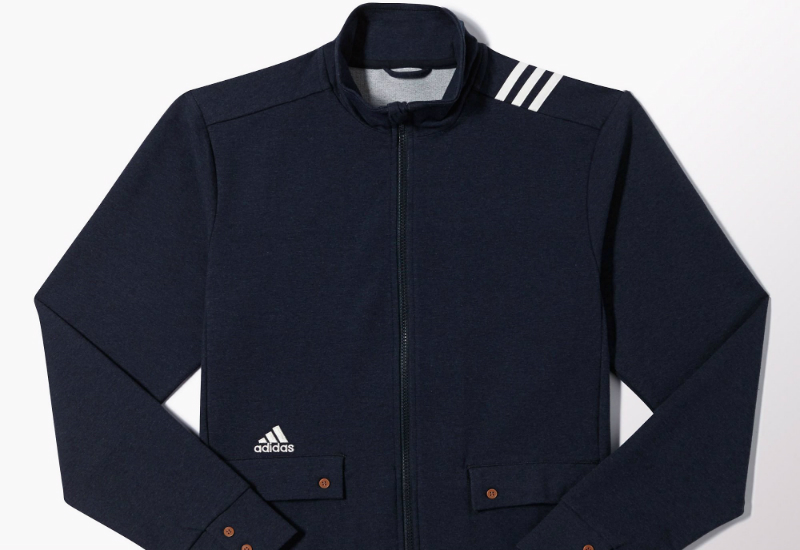 Adidas Real Madrid Presentation Track Jacket Deep Blue Melange