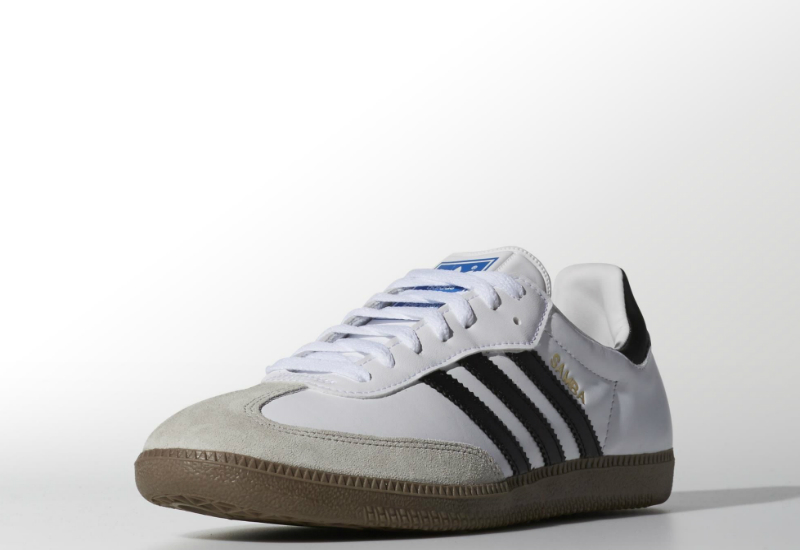 Adidas Samba Shoes White Gum Black
