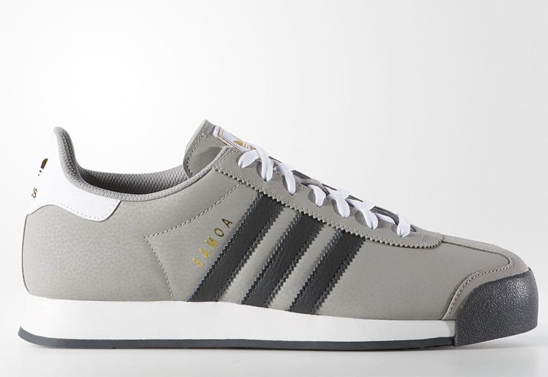 Adidas Samoa Shoes Multi Solid Grey Solid Grey Running White