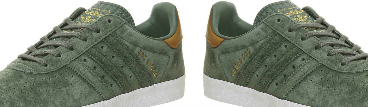 Adidas 350 Trace Green Trace Green Mesa Full