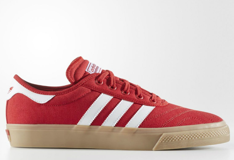 Adidas Adiease Premiere Shoes Scarlet Running White