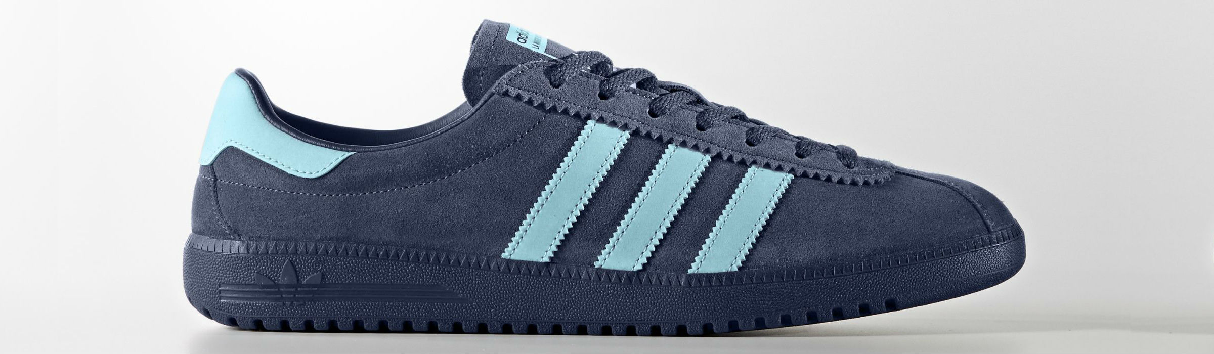 Adidas Bermuda Shoes Mystery Blue Clear Mystery Blue Full1