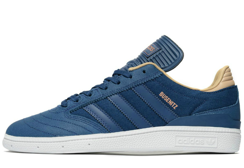 Adidas Busenitz Leather Blue Tan