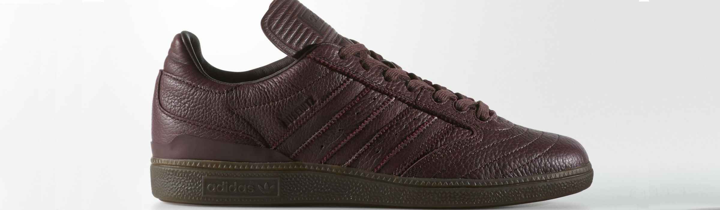 Adidas Busenitz Shoes Night Red Gum Full