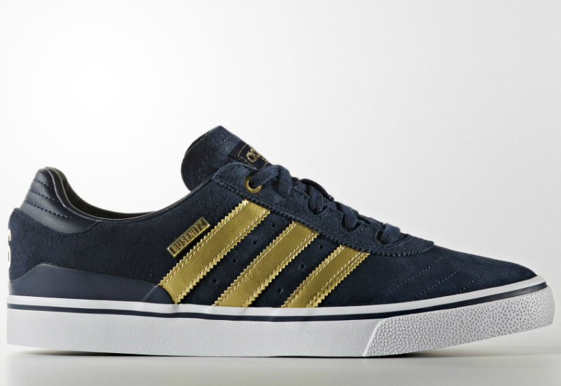 Adidas Busenitz Vulc Adv Shoes Collegiate Navy Halo Blue