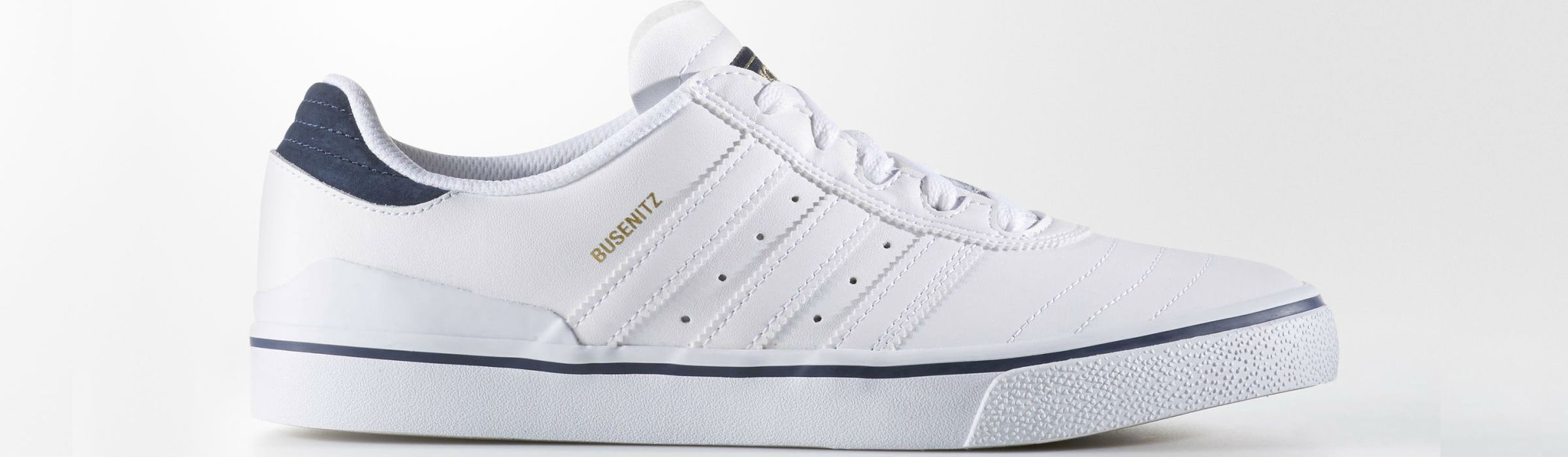 Adidas Busenitz Vulc Adv Shoes Footwear White Collegiate Navy Full