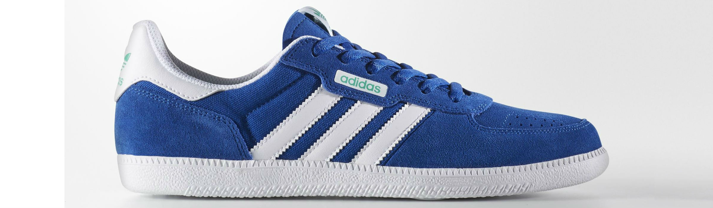 Adidas Leonero Shoes Collegiate Royal Footwear White Core Green Full