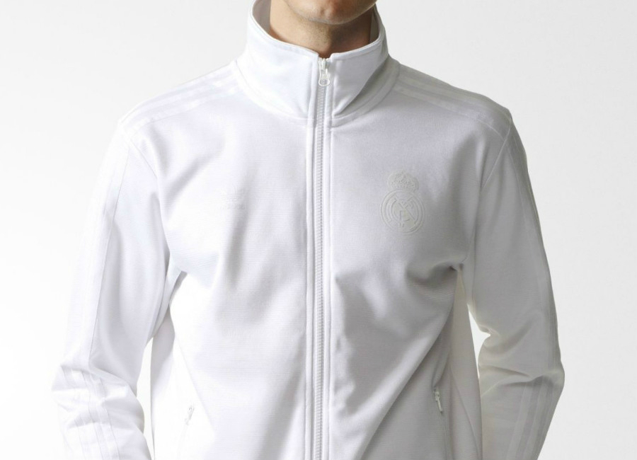 Adidas Real Madrid Track Jacket White