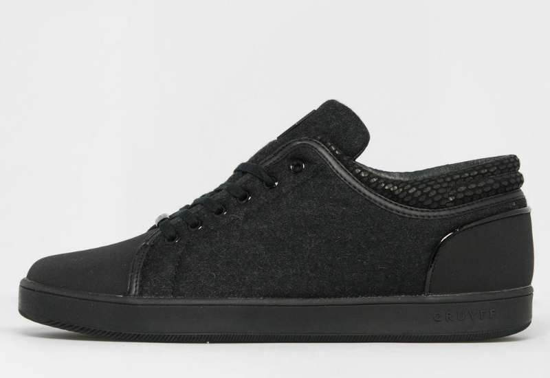 Cruyff Puente Hi Top Trainer Black