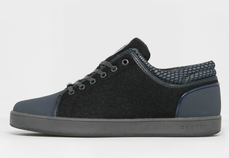 Cruyff Puente Hi Top Trainer Navy