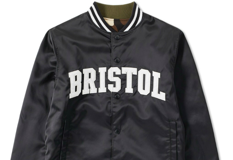 Fc Real Bristol Arch Star Reversible Stadium Jacket Black
