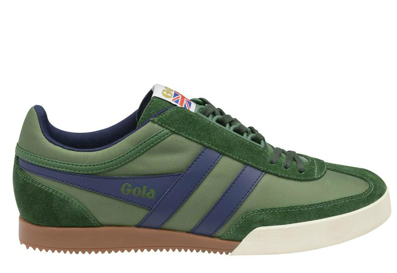 Gola Classics Super Harrier Green Navy