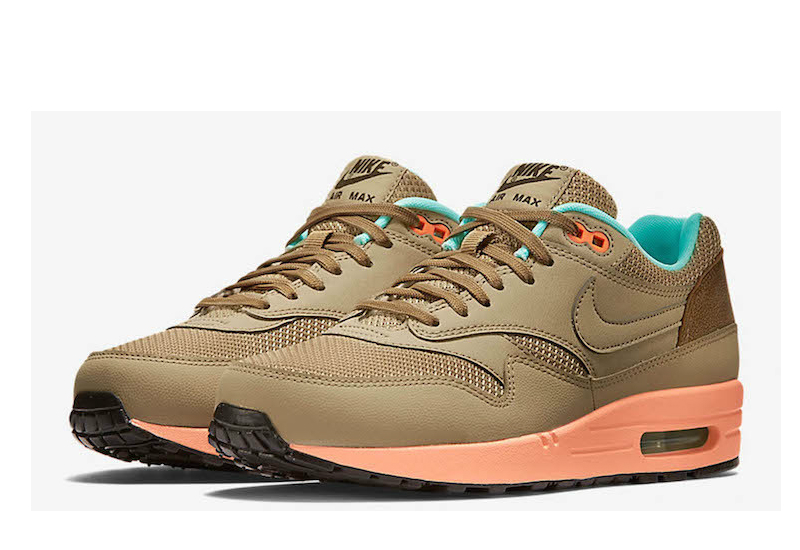 Nike Air Max 1 Fb Hay Sunset Glow Artisan Teal Hay 2