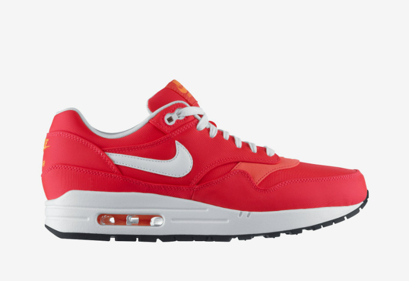 Nike Air Max 1 Premium Qs Hyper Punch Total Orange Ivory