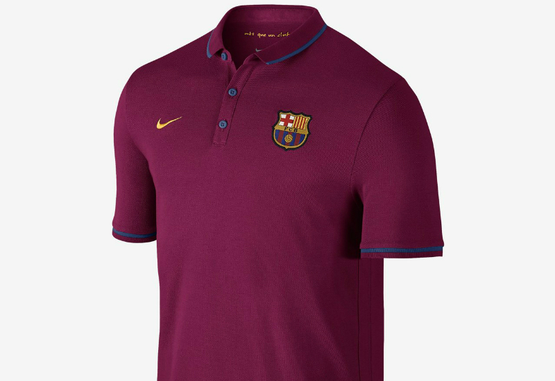 Nike Fc Barcelona Authentic League Dynamic Berry University Gold