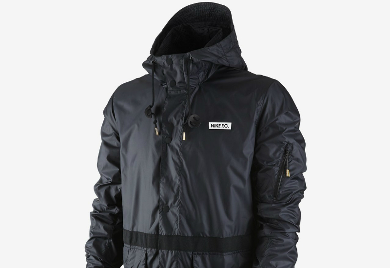 Nike Fc Saturday Jacket Black Black Black