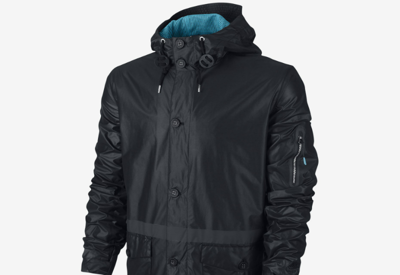 Nike Gf Cr Saturday Jacket Black Neo Turquoise Black