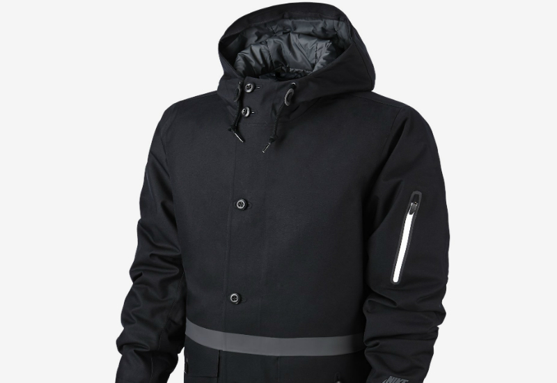 Nike Gf Saturday Jacket Black Anthracite Black Anthracite