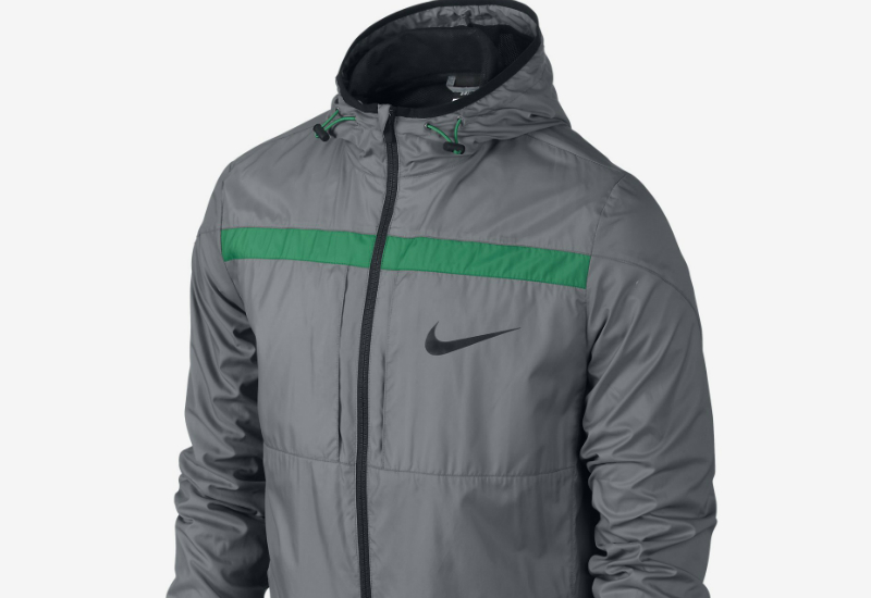 Nike Gpx Lightweight Woven Jacket Cool Grey Lucid Green Black