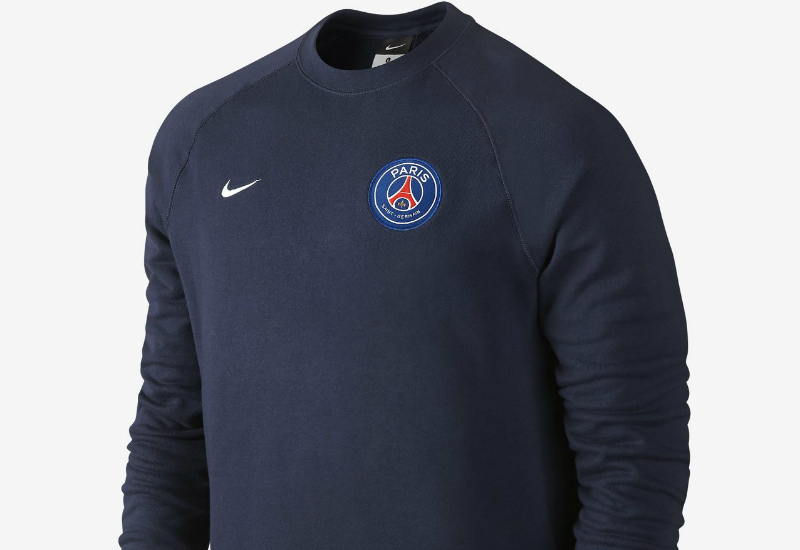 Nike Paris Saint Germain Authentic Aw77 Midnight Navy White