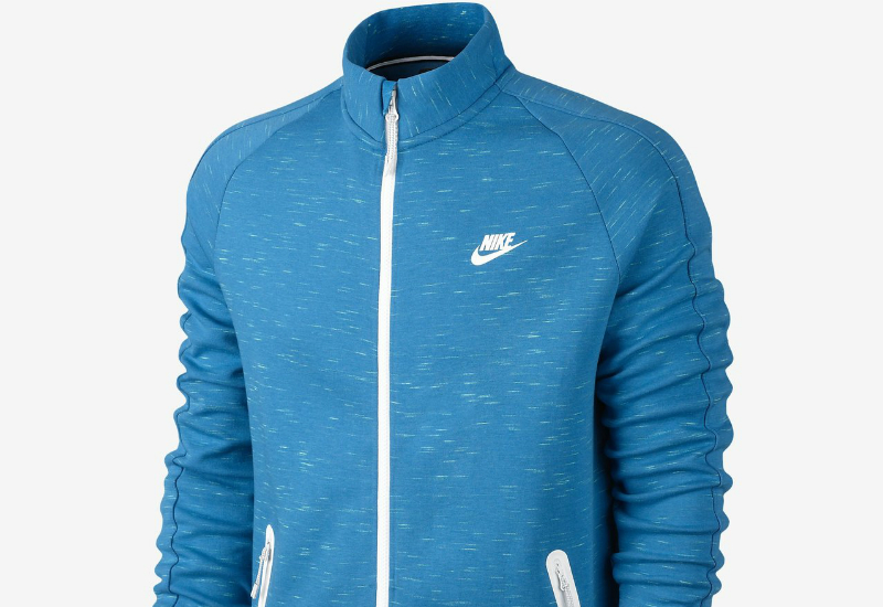 Nike Tech Fleece N98 Light Blue Lacquer Heather White