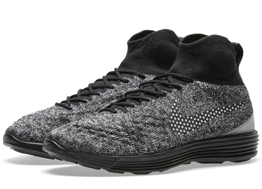 Nike Air Footscape Magista Ii Flyknit Fc Black White