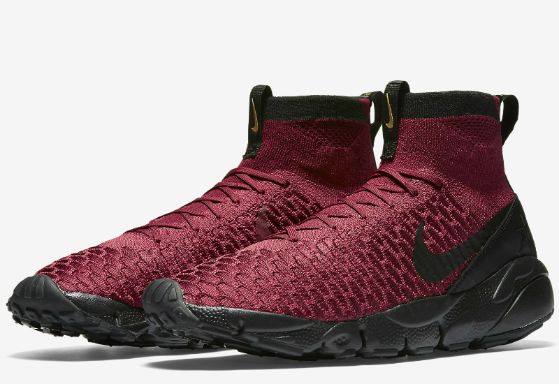 Nike Fc Air Footscape Magista Flyknit Team Red Team Red Metallic Gold Black