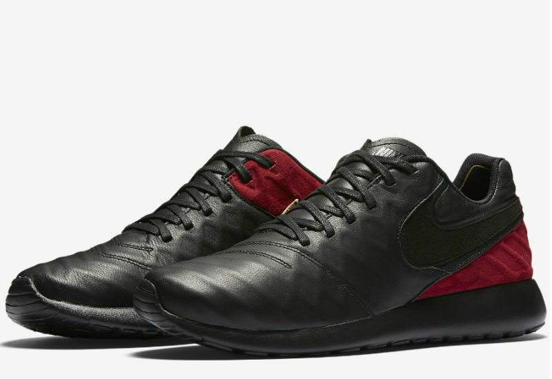 Nike Fc Roshe Tiempo Vi Black Team Red Metallic Gold Black