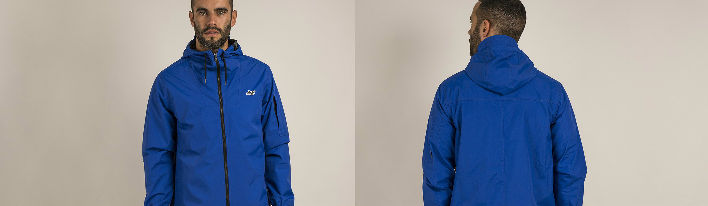 Peaceful Hooligan Michael Jacket Cobalt Full