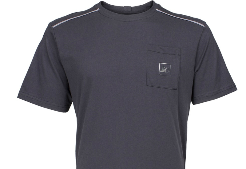 Peaceful Hooligan Wire Piped Pocket T Shirt Navy