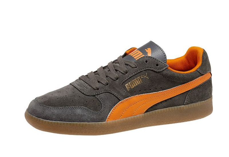 Puma Icra Trainer Dark Shadow Russet Orange Gum