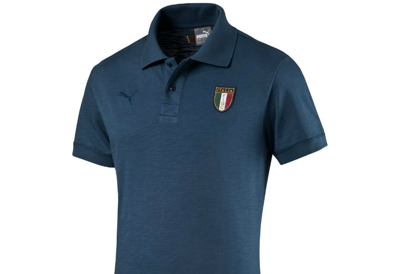 Puma Italia Azzurri Polo Dark Denim
