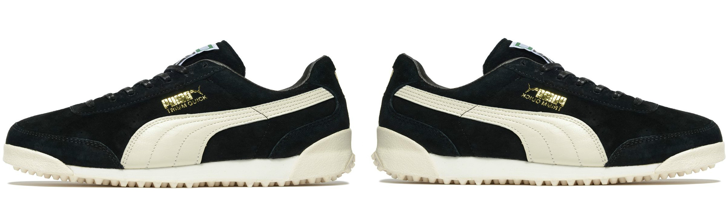 Puma Trimm Quick Black Cream White Full