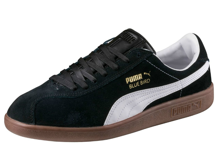 Puma Bluebird Shoes Black White