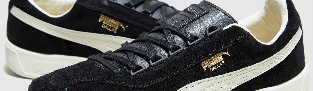 Puma Dallas Og Ss17 Terrace Puma Black Quiet Shade Gold Full