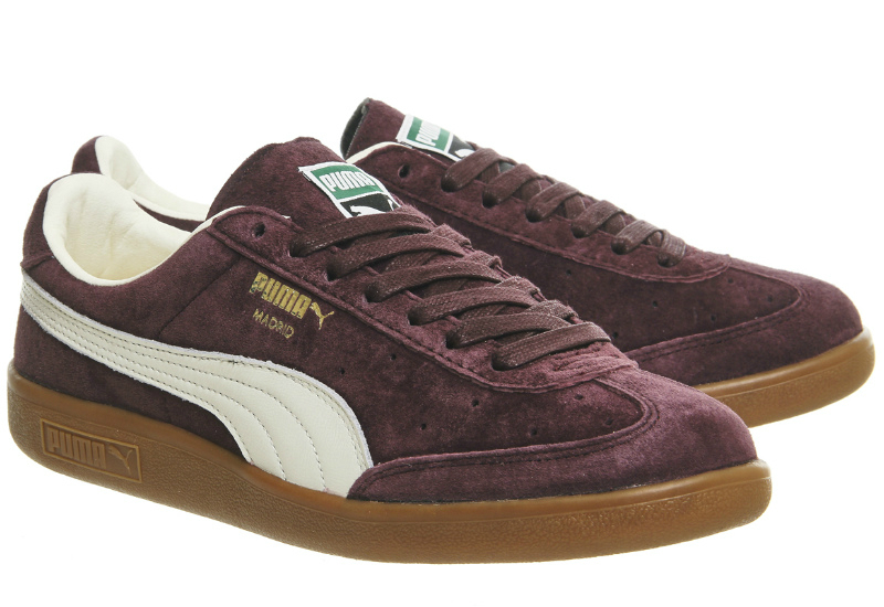 Puma Madrid Terrace Collection Wine Suede