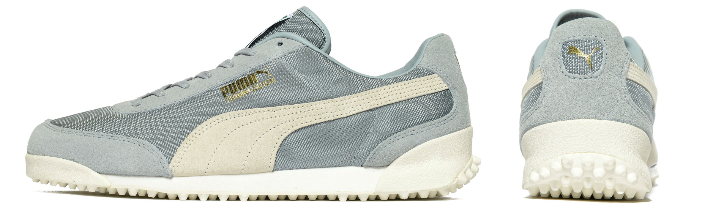 Puma Trimm Quick Nylon Quarry Whisper White Gold Full