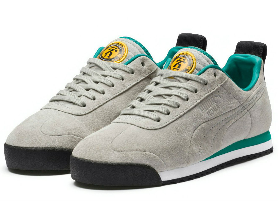 Puma X Daily Paper Roma Suede Gray Violet Gray Violet