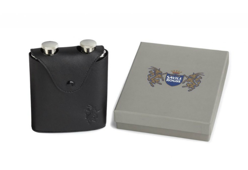 Savile Rogue Away Day Hip Flask Set