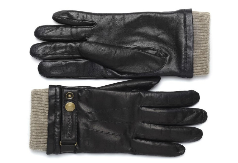 Savile Rogue Leather Touchscreen Gloves