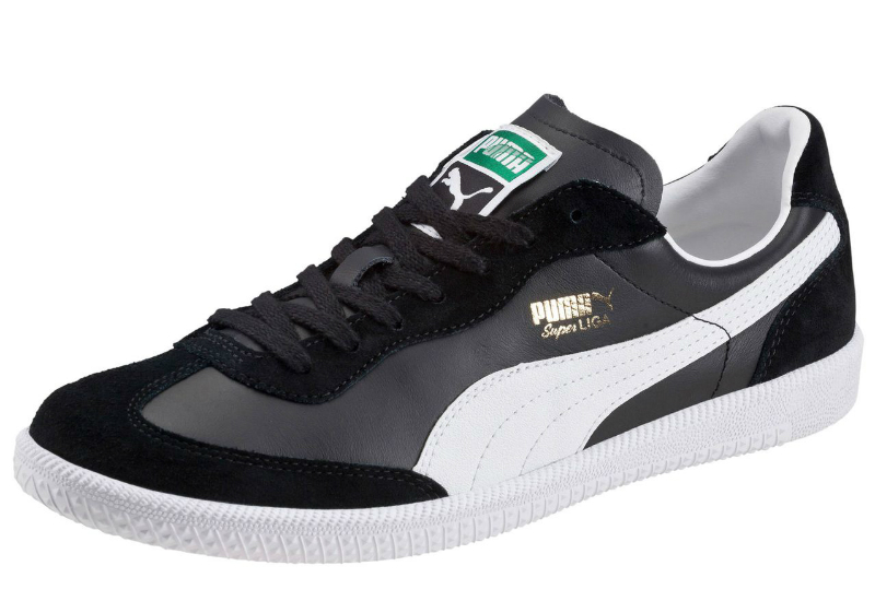Super Liga Retro Trainers Black White