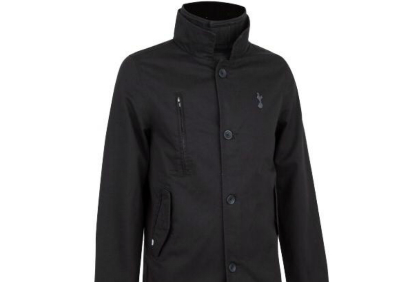 Thfc Hertitage Trench Jacket Black