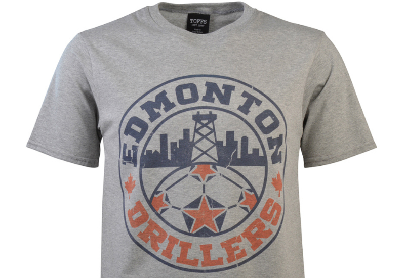 Toffs Edmonton Drillers T Shirt Grey