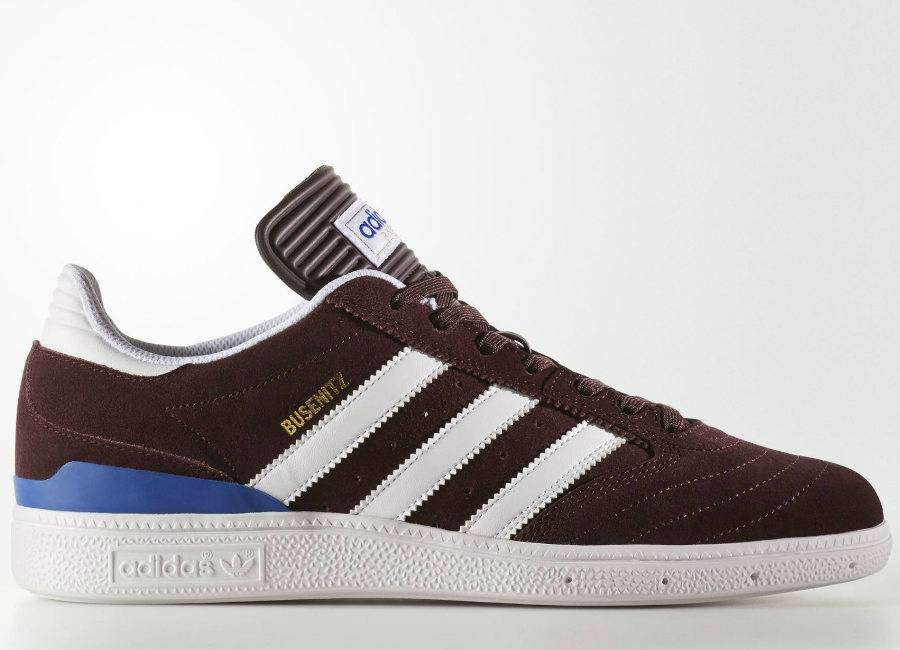 Adidas Busenitz Pro Shoes - Dark Burgundy / Footwear White / Collegiate Royal